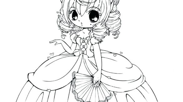 585x329 Cute Girl Coloring Pages Cute Girl Coloring Pages With Cute Girl