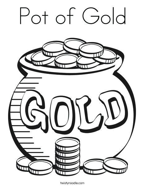 468x605 Pot Of Gold Coloring Pages Pot Of Gold Coloring Page Leprechaun