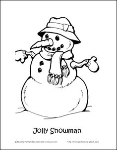 236x304 Let It Snow Coloring Page! Just Print Then Colors See More