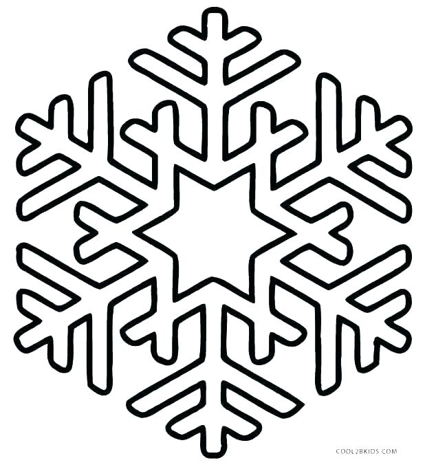 618x679 S Is For Snowflake Coloring Page Twisty Noodle Let It Snow