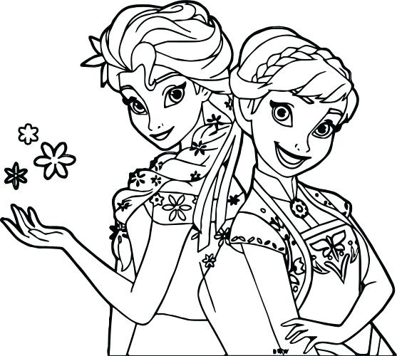 557x500 Snow Coloring Page Coloring Pages Snow Coloring Pages Frozen Fever