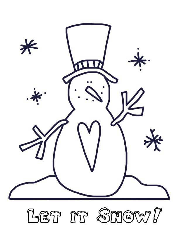 612x792 Christmas Coloring Pages