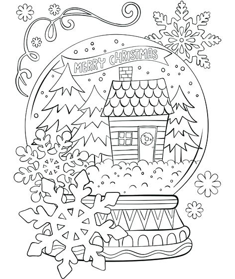 472x560 Winter Colouring Pages And Let It Snow Colouring Page Snowflake