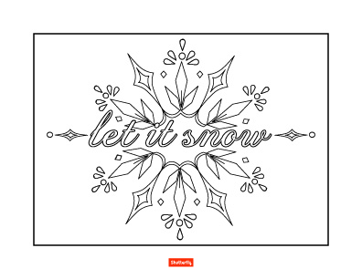 396x306 Let It Snow Coloring Pages Christmas Coloring Pages For Kids