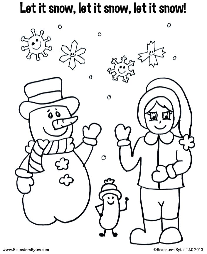 705x864 Best Winter Images On Coloring Books, Coloring