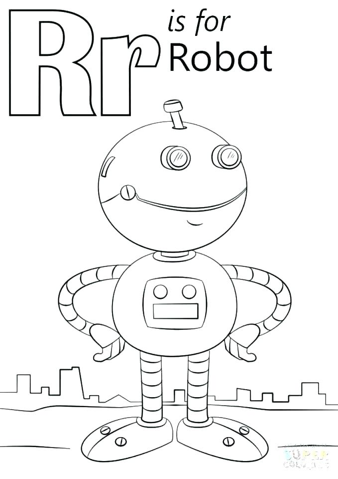 Letter A Coloring Pages