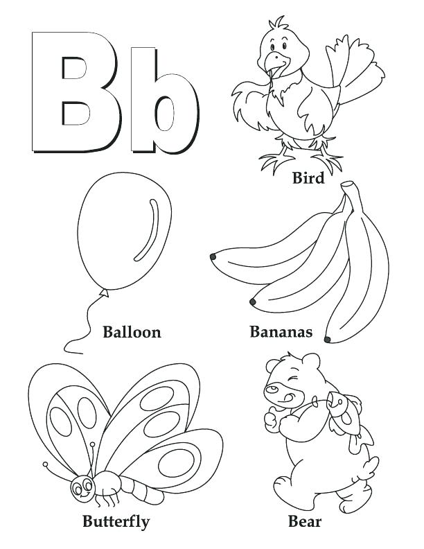 612x792 Coloring Page Letter A A Coloring Pages Letter A Colouring Pages