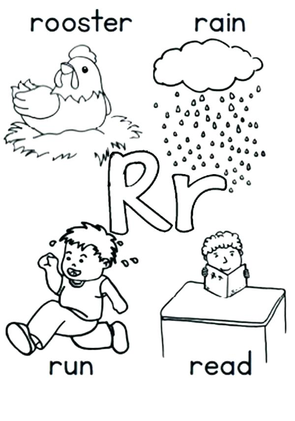 600x856 Coloring Pages Letter A A Coloring Page Online For Kid The Letter
