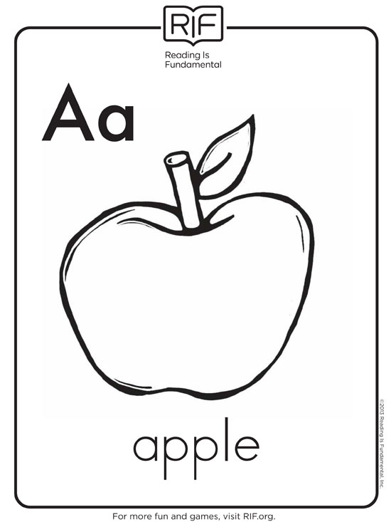 550x733 Free Alphabet Coloring Pages