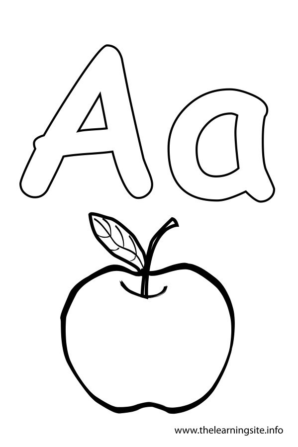 599x899 Letter A Coloring Pages