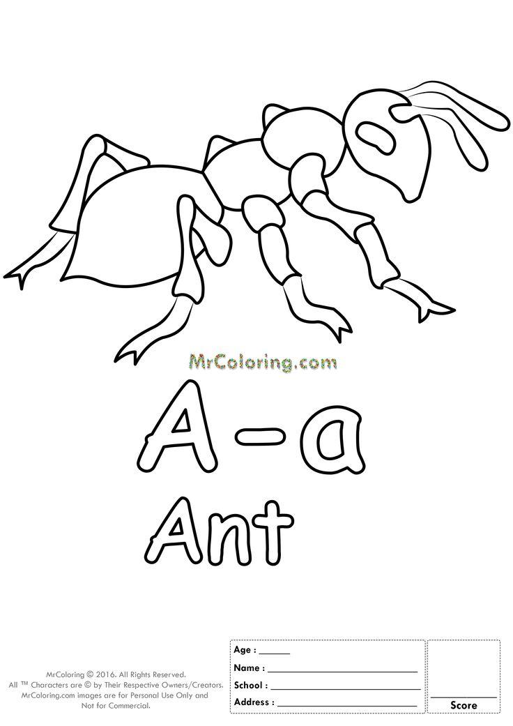 736x1041 Mejores De Alphabet Letter Coloring Pages En