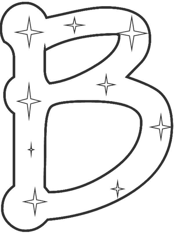 600x800 Mejores De Letter B Coloring Pages En Letra