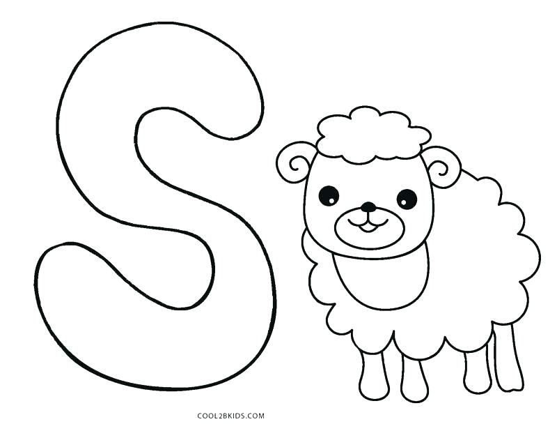800x618 Letter B Coloring Page Toddler Alphabet Coloring Pages Letter