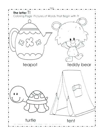 363x470 Letter T Coloring Pages Letter B Coloring Pages Letter T Coloring
