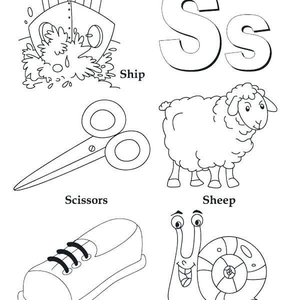 600x600 Abc Coloring Sheet Page Heet Page Page Letter B Coloring Page