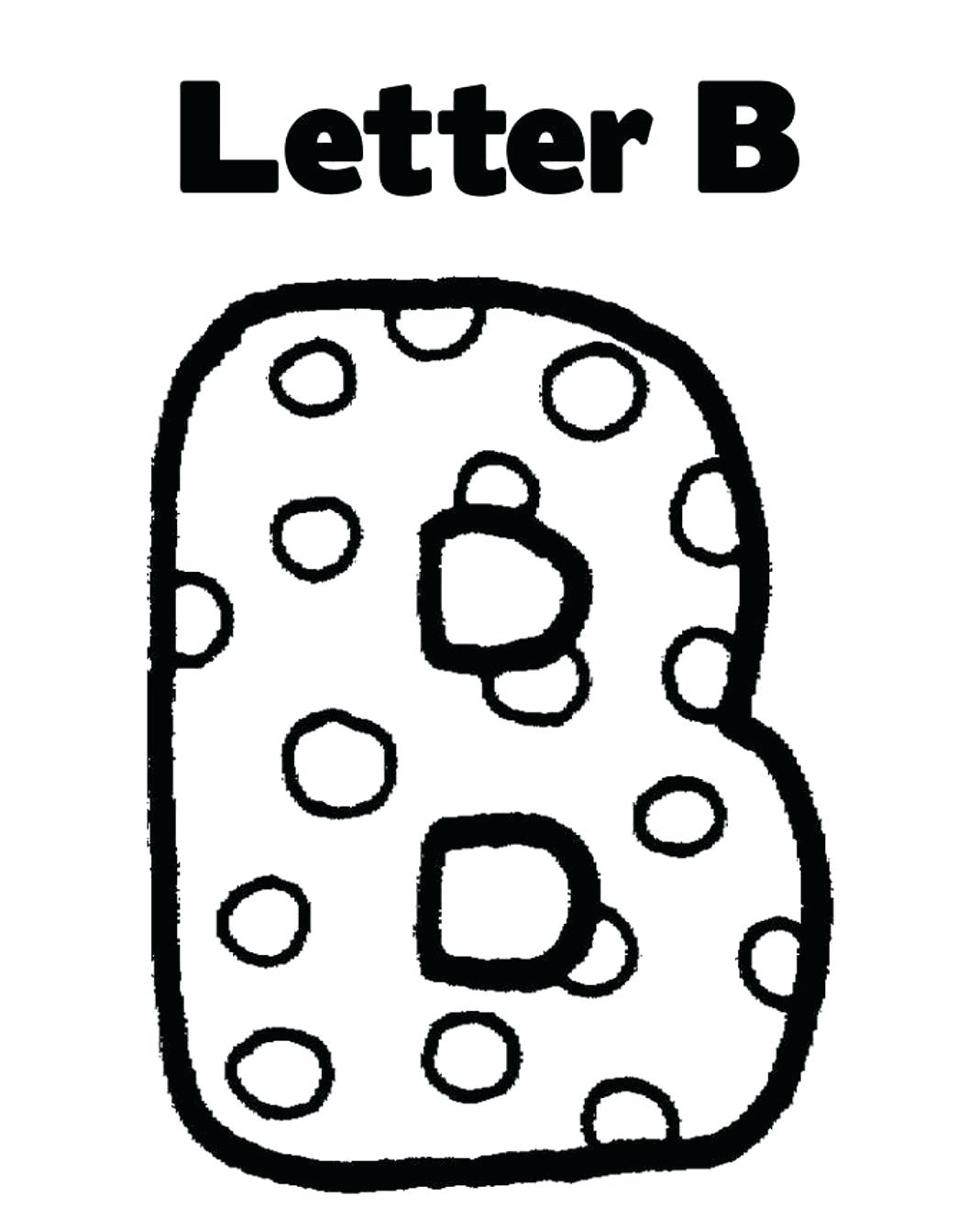 1069x1317 Unique Letter B Coloring Pages Collection Printable Coloring Sheet