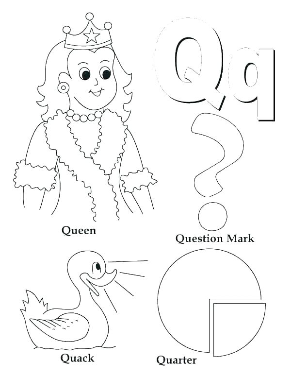 600x776 Letter A Coloring Pages