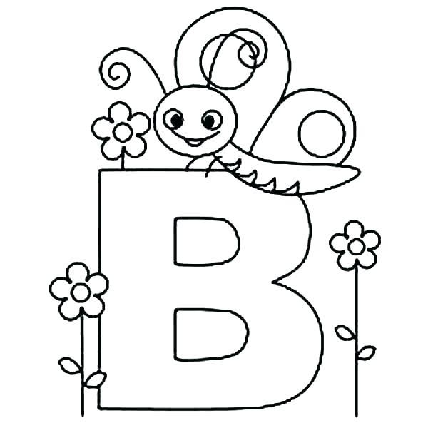 600x600 Letter D Coloring Pages Preschool