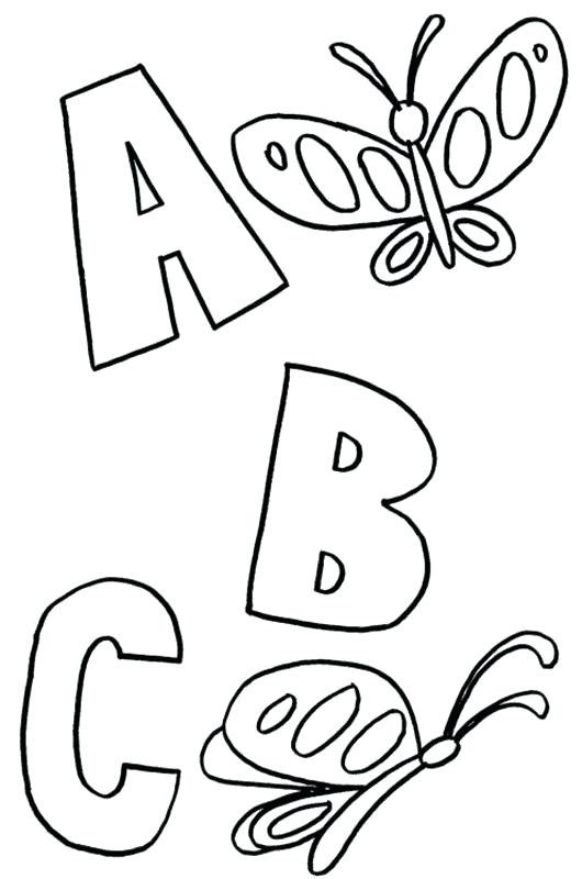 530x800 Abc Pages Preschool Free Coloring Pages Coloring Pages