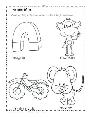 363x470 B Coloring Page Letter B Coloring Pages Printable The M Pictures