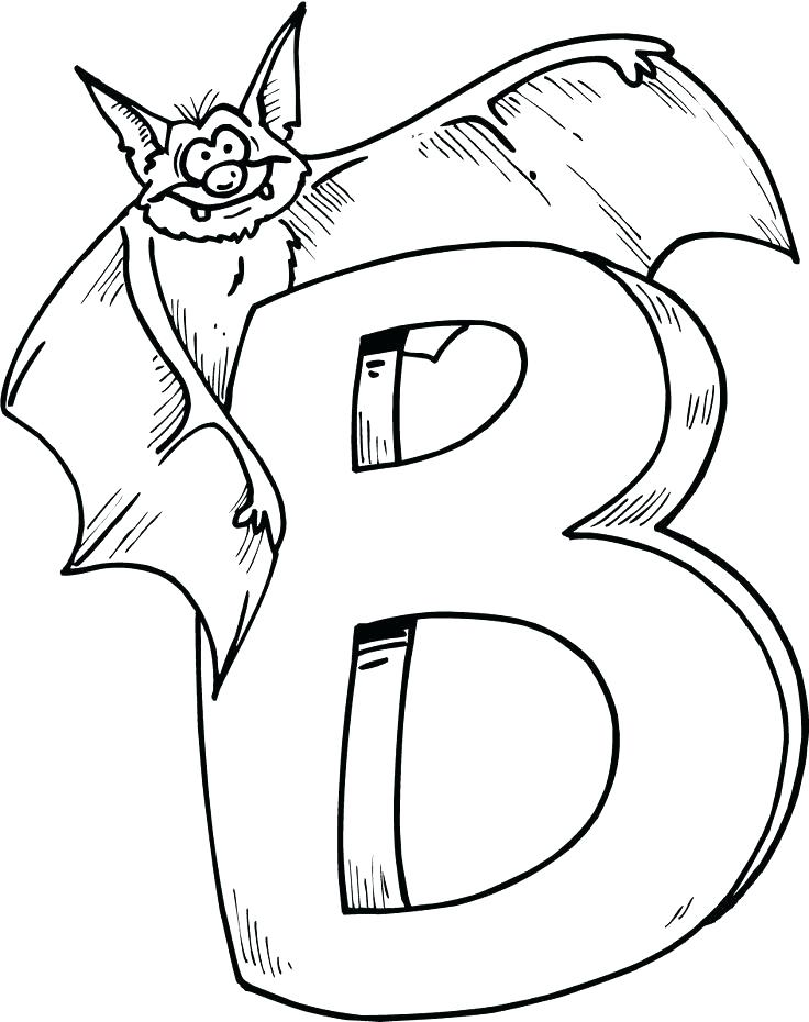 736x930 Letter B Coloring Page Coloring Pages Coloring Pages Kids