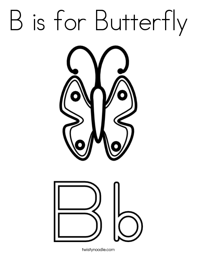685x886 Letter B Coloring Pages