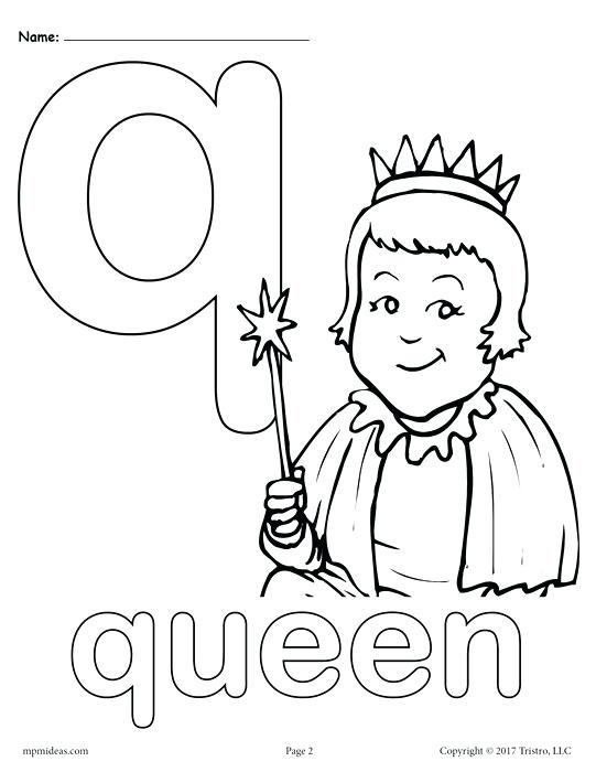 541x700 Letter Q Coloring Page Lowercase Letter Q Coloring Page Letter B