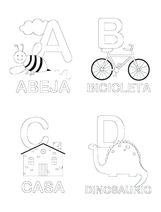 547x718 Letter B Coloring Pages For Preschoolers