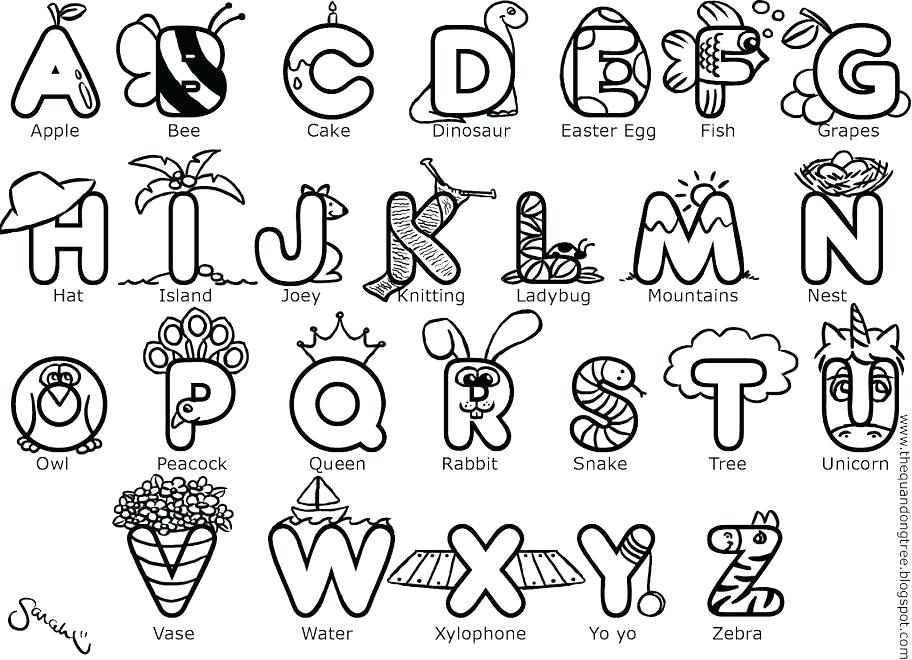 Letter C Coloring Pages For Toddlers At GetDrawings.com
