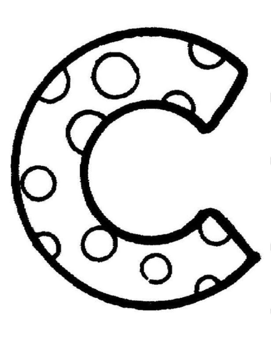 image regarding Printable C called Letter C Coloring Webpages Printable at  Cost-free