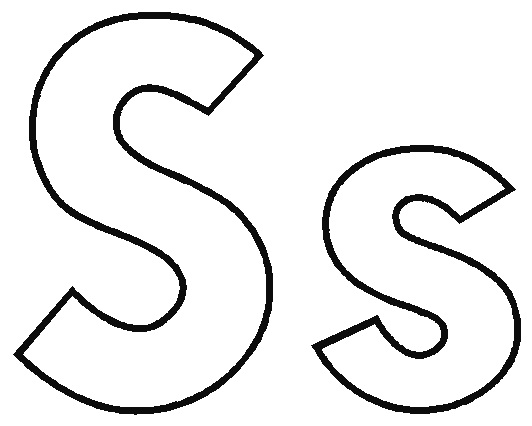 532x426 Letter S Coloring Pages Trend Letter S Coloring Pages For Your