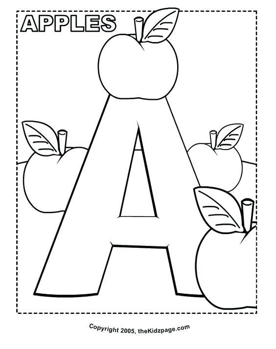 564x714 Alphabet Letter Coloring Pages Alphabet Coloring Pages Free Letter