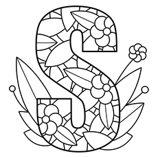 230x230 Astounding Design Letter Coloring Pages Pictures Free Printable