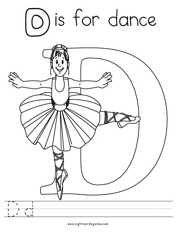 612x790 Letter D Coloring Page Letters Of The Alphabet