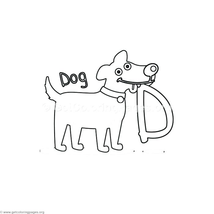 700x700 Letter D Coloring Pages Animal Alphabet Letter D Coloring Pages