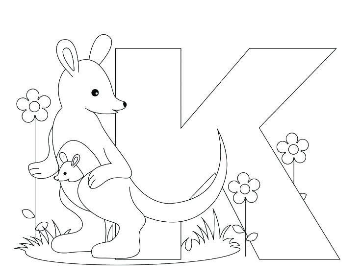736x572 Letter K Coloring Page Letter D Coloring Pages Free