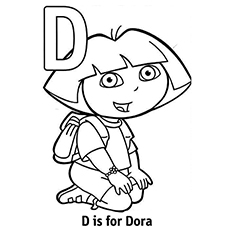 230x230 Top Free Printable Letter D Coloring Pages Online