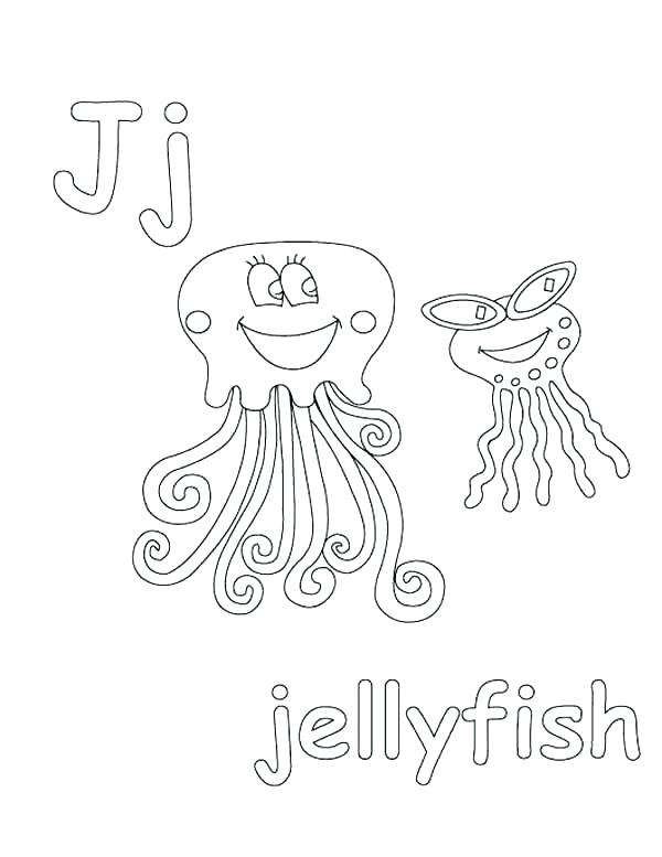 600x777 D Coloring Page