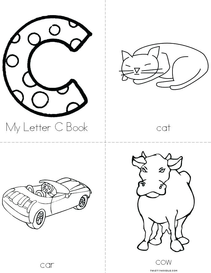 685x886 Letter C Coloring Pages For Preschoolers Letter D Coloring Page