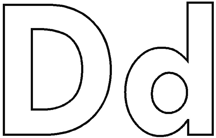 695x443 Letter D Coloring Pages Luxury Letter D Crafts For Preschool