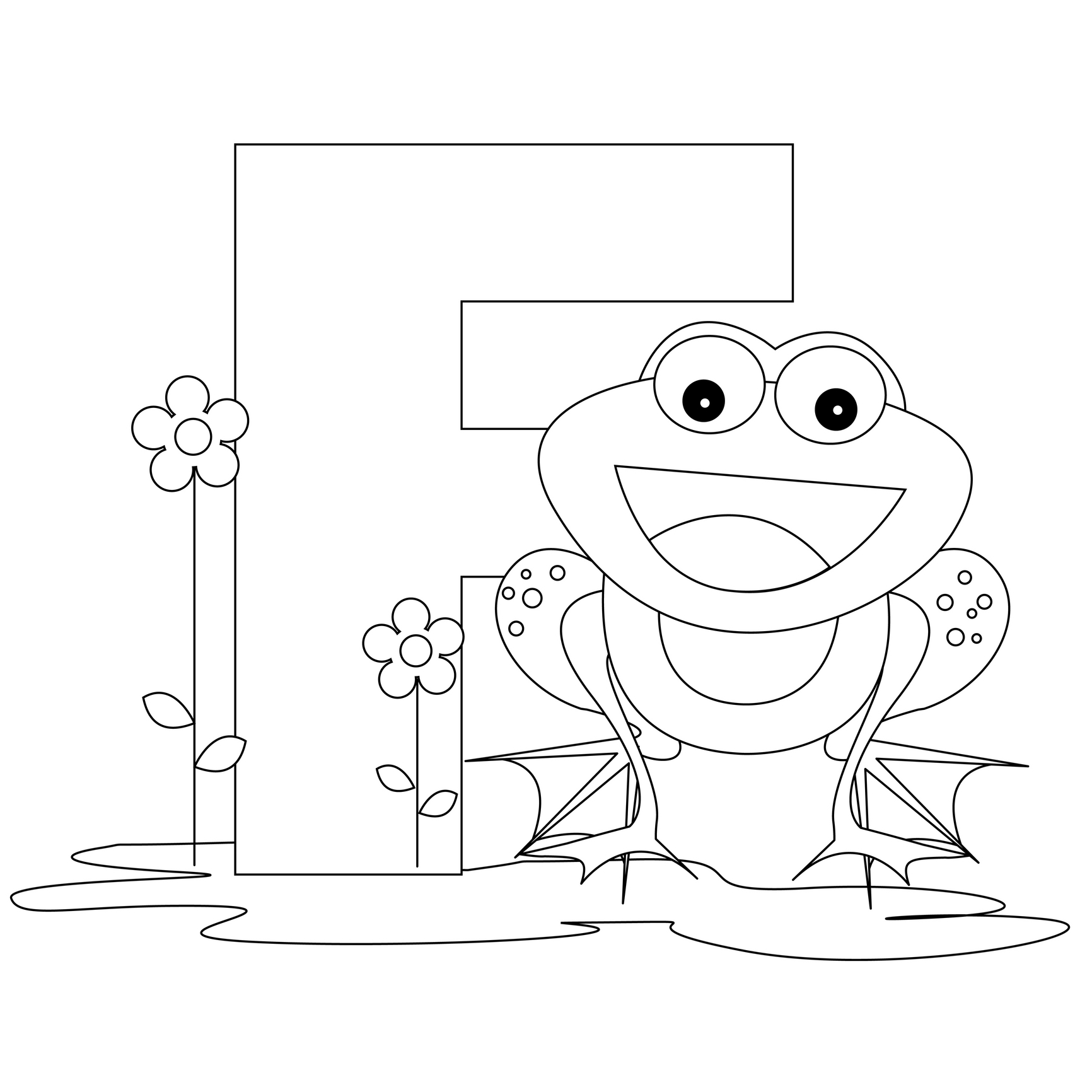 1732x1732 Letter D Coloring Pages Worksheets For All To Print