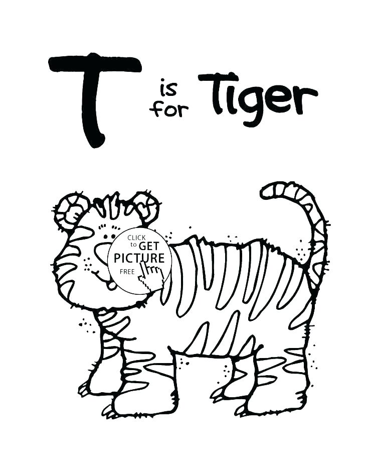 736x920 Letter I Coloring Pages For Preschoolers Letter T Coloring Page