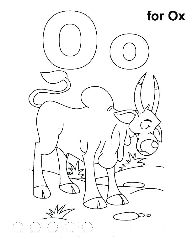 612x792 Letter O Coloring Pages For Preschoolers Letter O Coloring Sheet