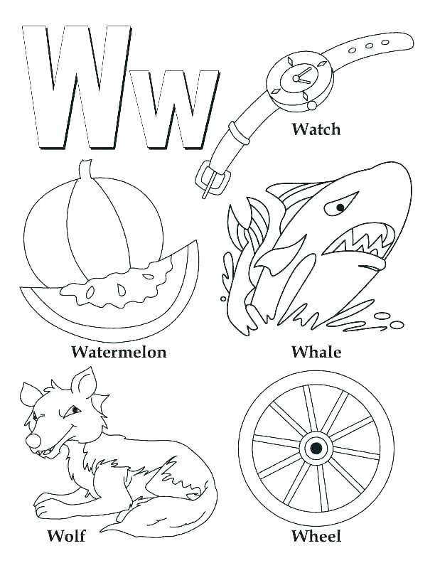612x792 Letter F Coloring Sheets