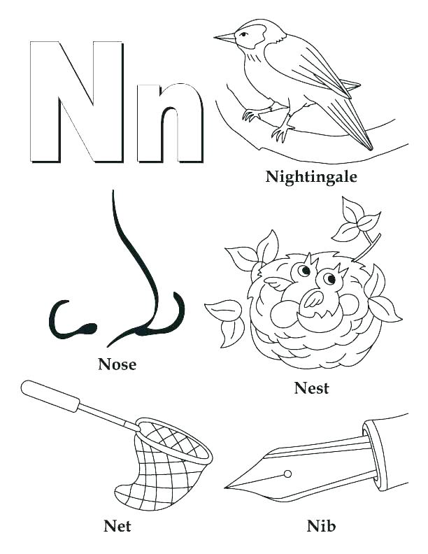 612x792 Letter I Coloring Pages For Preschoolers Letter O Coloring Pages