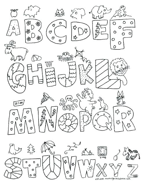 500x633 Letters Coloring Pages Simple Letter Coloring Pages Free New