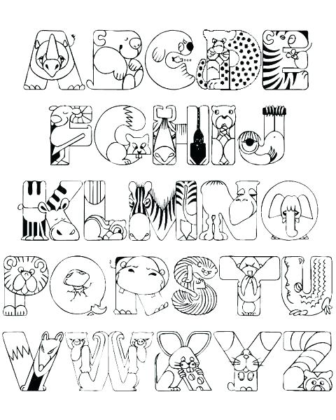 480x600 Coloring Pages Alphabet Coloring Pages Web Art Gallery Coloring