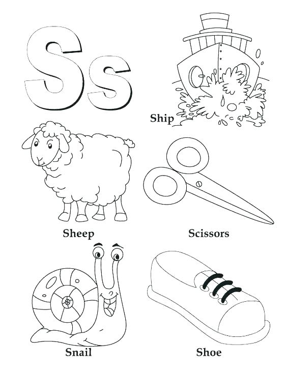 564x729 Letter A Coloring Pages For Toddlers Growth Letter L Coloring