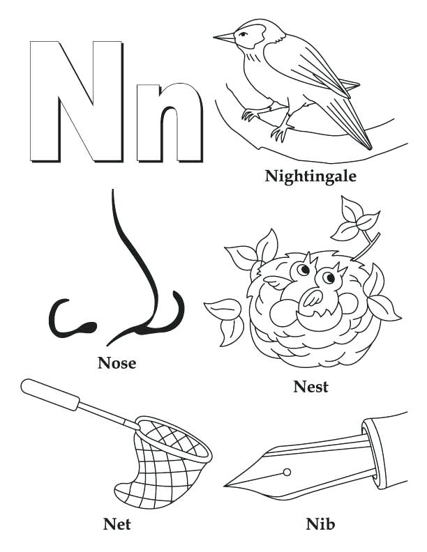 612x792 Letter H Coloring Page Letter H Horse Page Preschool To Fancy H Is