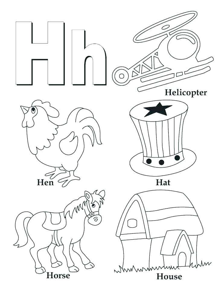742x960 Printable Arabic Alphabet Coloring Pages